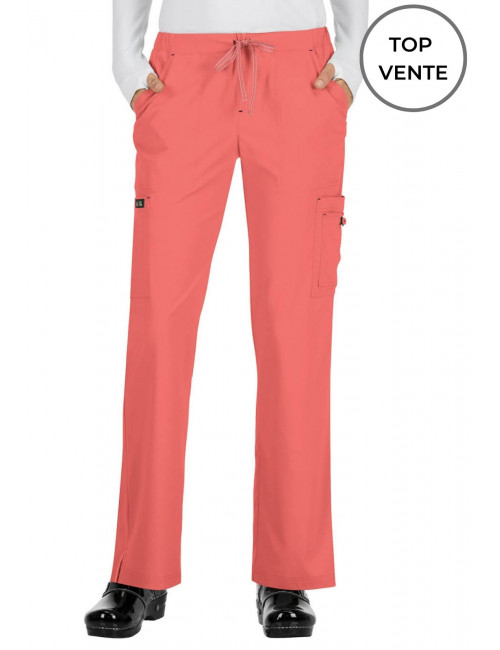 "Pantalon médical Femme Koi ""Holly"", collection Koi Basics (731) top"
