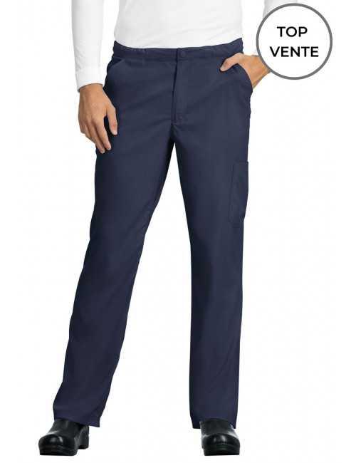 "Pantalon médical Homme Koi ""Discovery"", collection Koi Lite (606-) top"