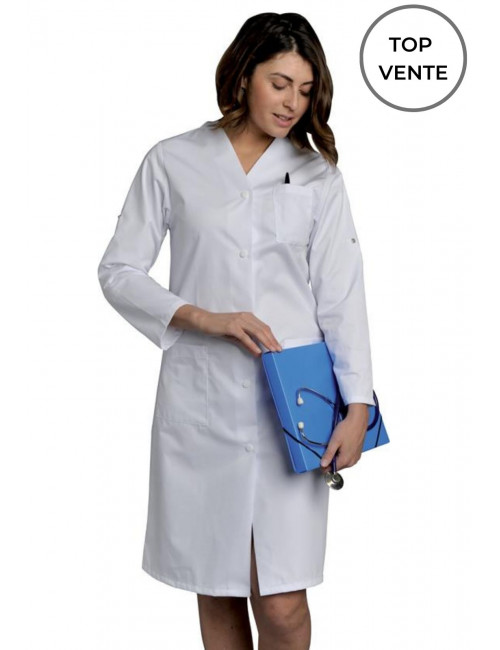 Long Medical Gown, Long-sleeved Ladies, SNV (JULRM000)