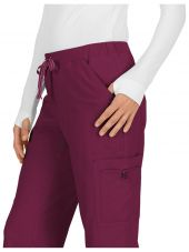 "Pantalon médical Femme Koi ""Holly"", collection Koi Basics (731) bordeaux coté"