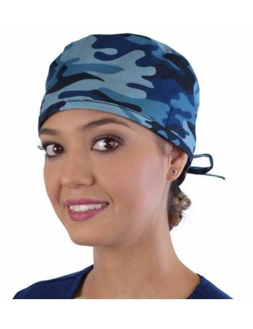 """Calot médical """"Camouflages bleus"""" (210-8858)"""
