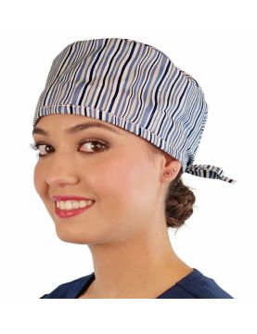 """Medical Cap """"Stripes"""" (210-8895)"""