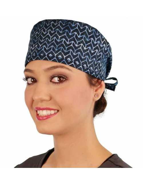 """Medical Cap """"Arrow blue"""" (210-8877)"""