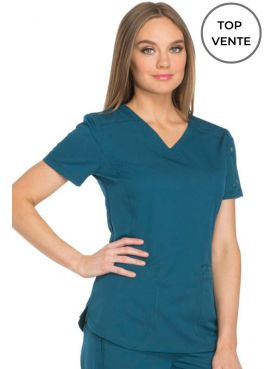 """Dickies Women's Medical Blouse, """"Dynamix"""" Collection (DK730)"""