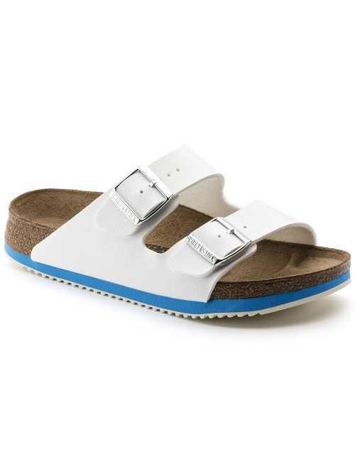 White Medical sandal, Birkenstock, Arizona