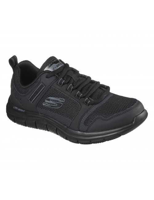 Baskets Homme Skechers, Track Knockhill Noires (232001)