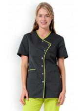"""Blouse médicale femme """"Eloïse"""", Clinic dress anis"""