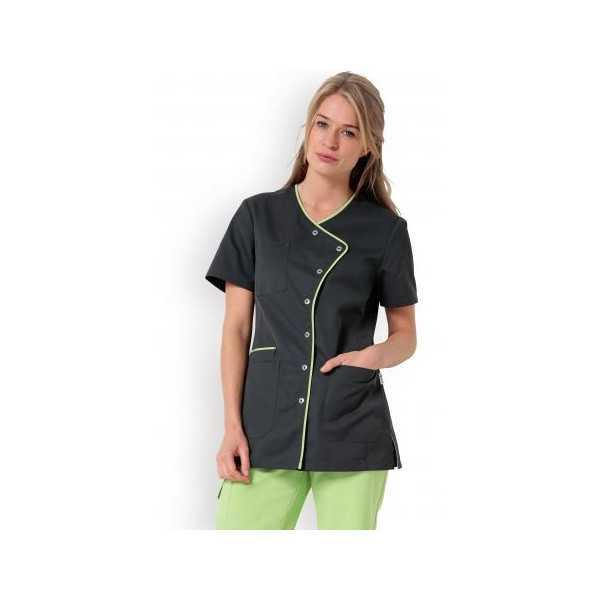 "Blouse médicale femme ""Eloïse"", Clinic dress vert"