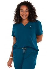 "Blouse médicale Femme Koi ""Ready to Work"", collection Koi Next Gen (1010) vert caraibe"