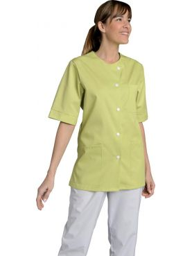Women's Medical Gown Color Round Collar Corinne, SNV (CORKC010)