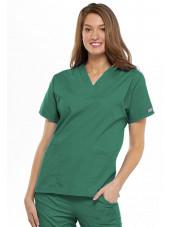 Blouse médicale Femme, 2 poches, Cherokee Workwear Originals (4700) vert chirurgien