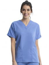 Blouse médicale Femme, 2 poches, Cherokee Workwear Originals (4700) bleu ciel