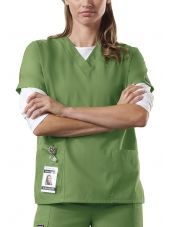 Blouse médicale Femme, 2 poches, Cherokee Workwear Originals (4700) vert