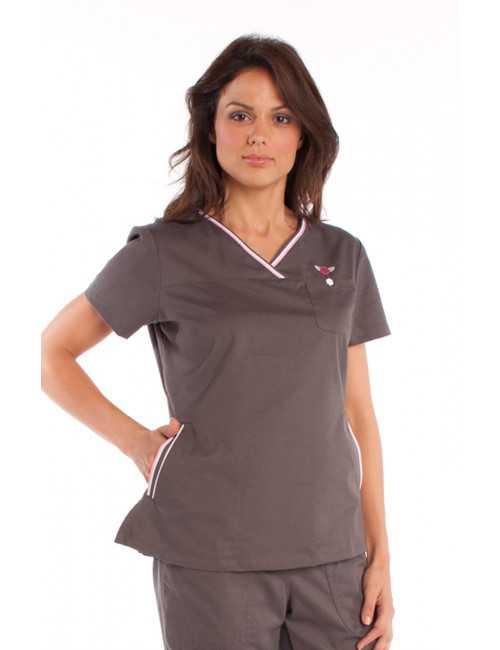 "Koi Medical Gown Woman ""Ashley"", Koi Classics Collection (113HRT-)"