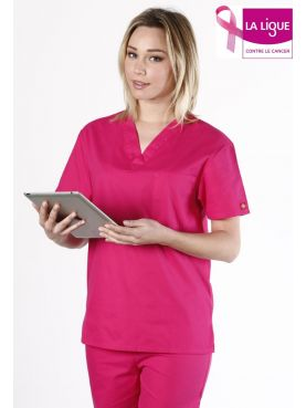 """Women's Medical Gown, Dickies, Heart Pocket, """"EDS Signature"""" Collection (83706)"""