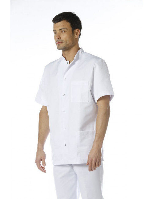 "Blouse médicale unisexe pression,CMT, collection ""Eco responsable"" (007)"