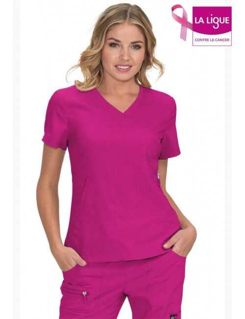 "Women's Koi Medical Gown ""Philosophy"", Koi Lite Collection (316-)"