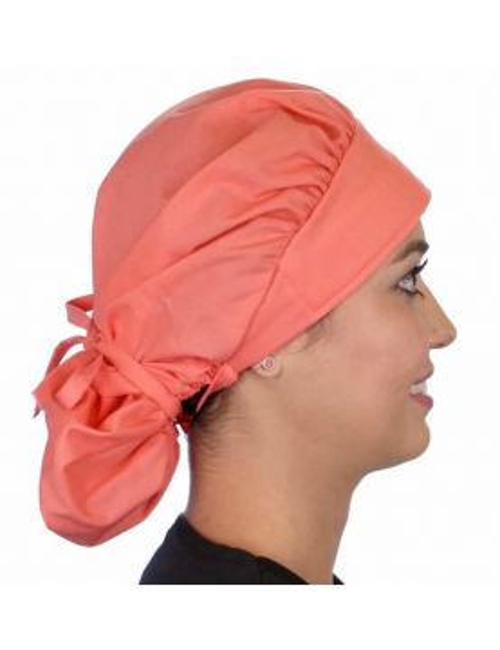 """Calot médical Cheveux Mi-Longs """"Corail"""" (214-1166)"""