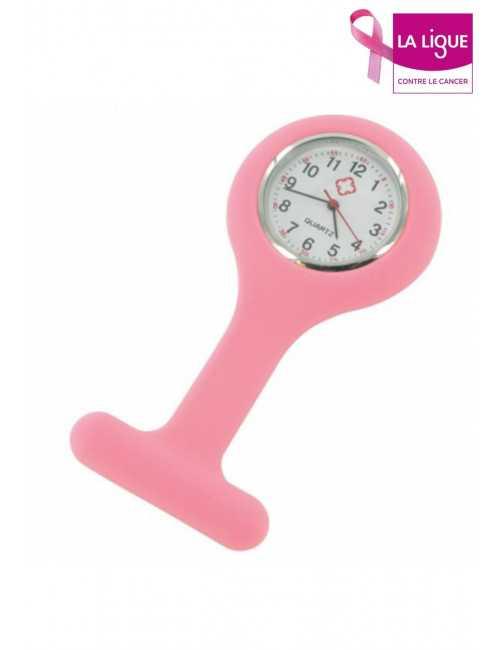 Nurse Watch Silicone Pink