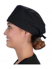 """Calot médical """"Noir"""" (210-1030) femme coté"""