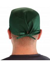 """Calot médical """"Vert foncé"""" (210-1124) homme dos"""