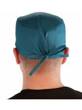 Calot médical Teal blue (210-1136) dos