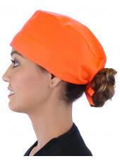 Calot médical Orange (210-1033) femme coté