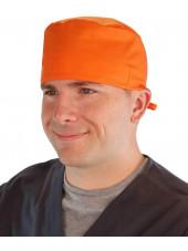 Calot médical Orange (210-1033) homme face
