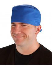 Calot médical Bleu royal (210-1037) homme face