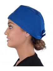 Calot médical Bleu royal (210-1037) femme coté