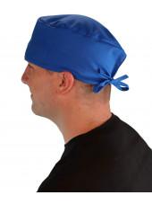 Calot médical Bleu royal (210-1037) homme coté