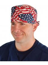 "Calot médical ""USA"" (210-1001) homme face"