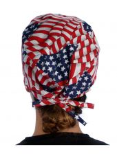 """Calot médical """"USA"""" (210-1001) femme dos"""