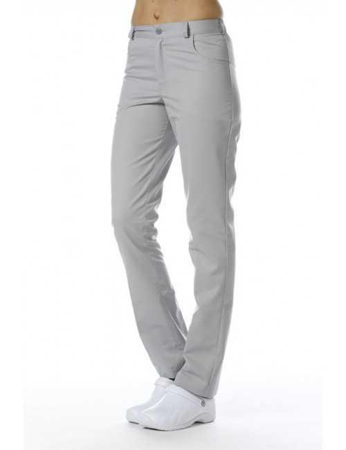 Pantalon médical unisexe slim, Mankaia Factory, nouveau tissu (228)
