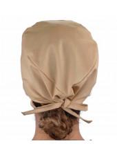 Calot médical Beige (210-1039) femme dos