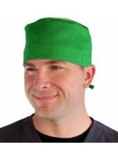 Calot médical Vert (210-1127) homme face