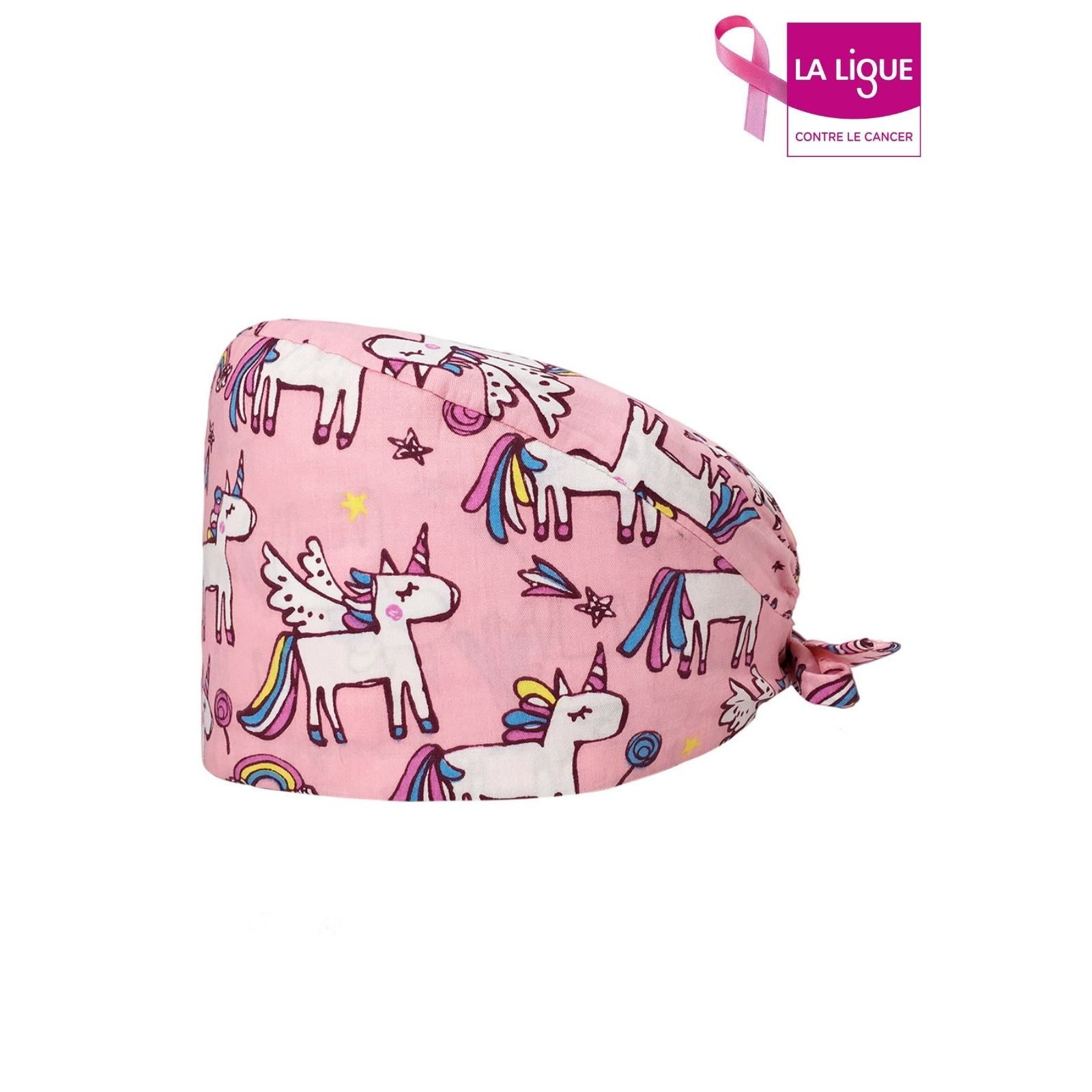 Pink Unicorn Medical Cap (209-12230)