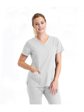 """Blouse médicale 3 poches Femme, collection """"Barco One Essentials"""" (BE004) blanc"""