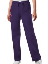 Pantalon médical cordon Unisexe, Cherokee Workwear Originals (4100) aubergine face