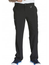 "Pantalon à bouton homme, Cherokee, Collection ""Infinity"" (CK200A) noir face"