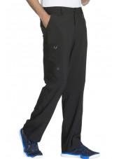 "Pantalon à bouton homme, Cherokee, Collection ""Infinity"" (CK200A) noir gauche"