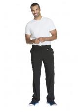 "Pantalon à bouton homme, Cherokee, Collection ""Infinity"" (CK200A) noir modele"