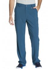 "Pantalon à bouton homme, Cherokee, Collection ""Infinity"" (CK200A) vert caraibe face"