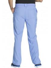 "Pantalon à bouton homme, Cherokee, Collection ""Infinity"" (CK200A) bleu ciel dos"