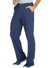 "Pantalon à bouton homme, Cherokee, Collection ""Infinity"" (CK200A) bleu marine coté"