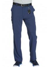"Pantalon à bouton homme, Cherokee, Collection ""Infinity"" (CK200A) bleu marine face 2"