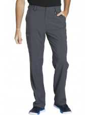 "Pantalon à bouton homme, Cherokee, Collection ""Infinity"" (CK200A) gris anthracite face"