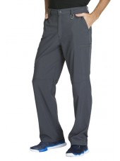 "Pantalon à bouton homme, Cherokee, Collection ""Infinity"" (CK200A) gris anthracite coté"