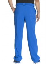 "Pantalon à bouton homme, Cherokee, Collection ""Infinity"" (CK200A) bleu royal dos"