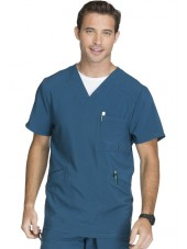 "Blouse Médicale Homme Antibactérienne Cherokee, Collection ""Infinity"" (CK900A) vert caraibe face"